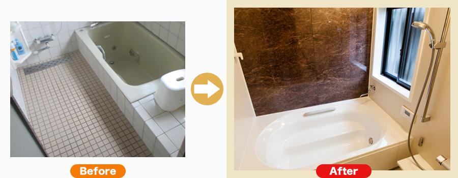 関市肥田瀬 S様のお風呂リフォーム事例はこちら