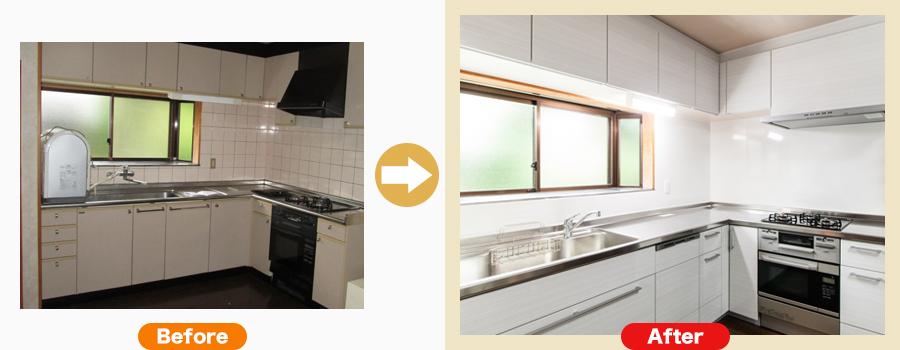 関市肥田瀬 S様のキッチン・台所リフォーム事例はこちら