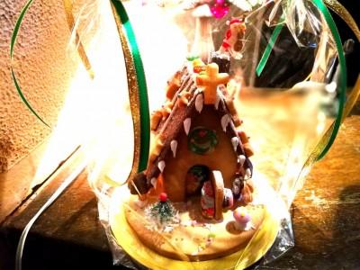 レジ横‐クリスマスインテリア