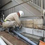 関市西本郷通N様邸外構工事が進行しています。