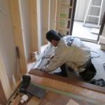 関市 内部リフォーム キッチンに特注家具を設置