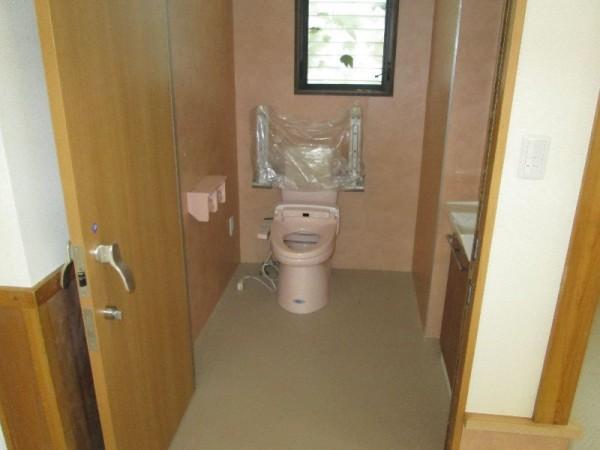 美濃市 デイサービスI様 食事処からリフォーム トイレアフター