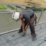 岐阜市 屋根カバー工法 着工しました。