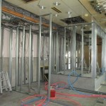 土岐市 デイサービス新装工事 金属製建具工事・内装工事