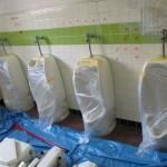 愛知県 某工場様 WC修繕工事に着工しました。