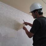 愛知県 某工場様 WC修繕工事 壁仕上げ工事