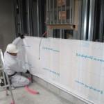岐阜市 デイサービス新装工事 外壁のサイディング貼を行いました。