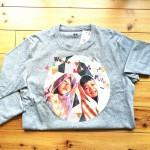 孫の顔Tシャツ、長袖バージョン