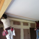 岐阜県関市 浴室・キッチン・リビング改修工事 内装工事クロス貼/A様邸