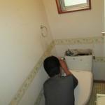 トイレ交換工事を行いました。加茂郡坂祝町にて。