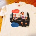 孫Tシャツ、完成しました!
