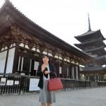 銀婚式記念で奈良へ夫婦旅 その1