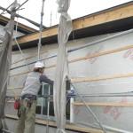 美濃市 住宅新築工事 板金工事・外壁Kスパン貼/C様邸