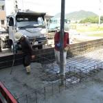 美濃市 住宅新築工事 ベタ基礎工事・土間コンクリート打設/C様邸