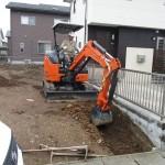 美濃市 住宅新築工事 外構ブロック工事/C様邸