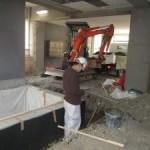 岐阜市 デイサービス新装工事 エレベーターピット埋戻し・土間コンクリート工事