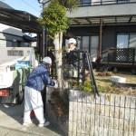 関市 駐車場拡張工事 解体・掘削工事