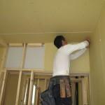 岐阜市 2世帯住宅新築工事 木工事 1F造作完了・キッチン取付/B様邸